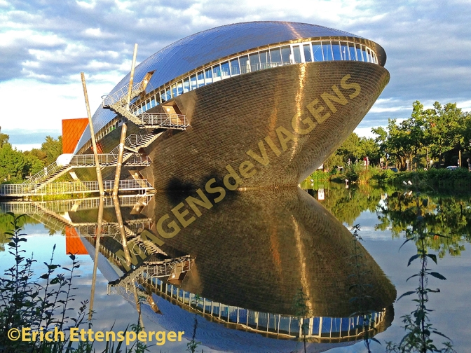Edifício espetacular em Bremen: Centro de Ciências do Universum