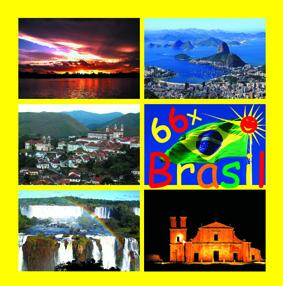 Capa do Livro 66 x Brasil