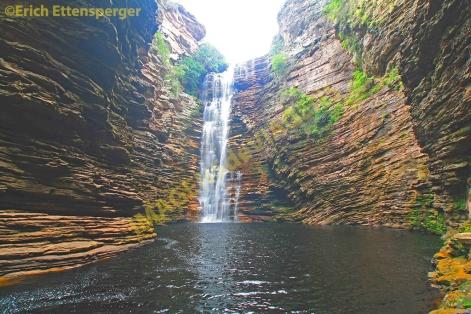 A espetacular cachoeira/Die spektakulären Wasserfall/The spectacular waterfall