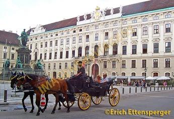 Droschke in Wien/Cab in Vienna/Fiacre em Viena