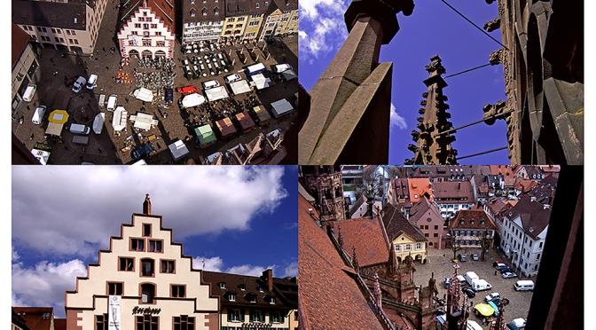 FREIBURG – eine Stadt im Dreiländereck/Cidade na esquina dos três países