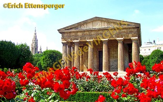 Tempel des Theseus, Volksgarten/ Temple of Theseus, Volksgarten/Templo de Teseu, Volksgarten