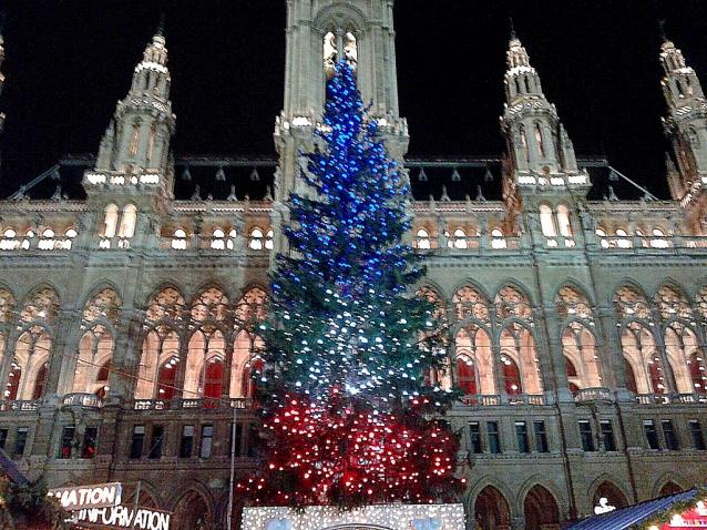 Weihnachtsmärkte in Vienna/ Christmas Market in Vienna/Mercado de Natal em Viena