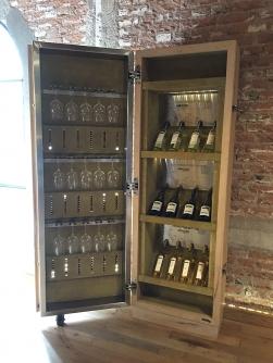Expositor de vinhos