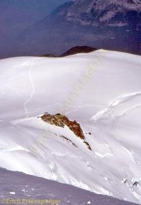 Abstieg vom Mont Blanc/Descida da Montblanc/Descent from Montblanc