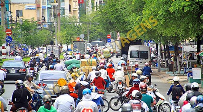 Saigon ou Ho Chi Minh City: a cidade das motocicletas