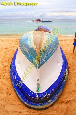 Barco na Playa Blanca