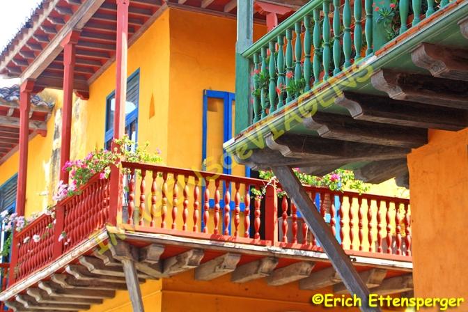Cartagena das Índias, pérola da Colômbia/Cartagena de Indias, die Perle Kolumbiens/Cartagena de Indias, the pearl of Colombia
