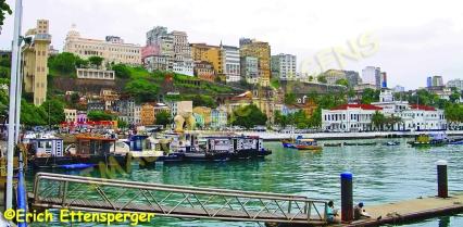 Vista da Cidade Alta e da Cidade Baixa/Blick auf die Ober - und Unterstadt/View of Upper Town and Lower Town