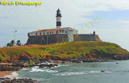Farol da Barra/Leuchtturm Farol da Barra/Farol da Barra Lighthouse