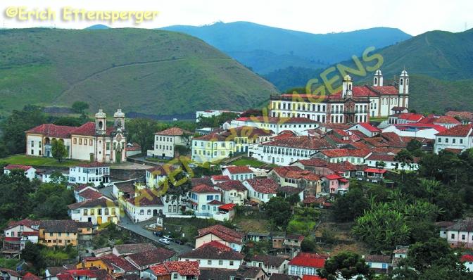 Ouro Preto, a antiga Vila Rica/Ouro Preto, das alte Vila Rica/Ouro Preto, the old Vila Rica