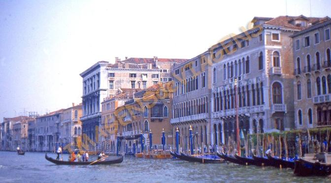 Veneza é um sentimento