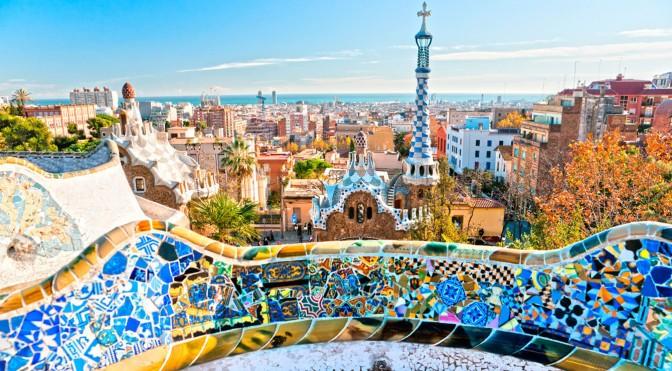Olhando Barcelona/Barcelona besuchend/Looking Barcelona