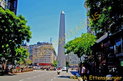 O Obelisco da Av. 9 de Julho