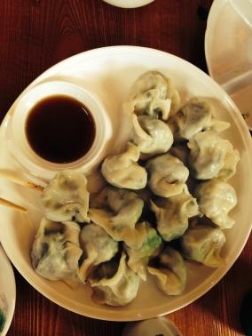 Dumpling, um tipo de bolinho servido no café da manhã em Pequim, China
