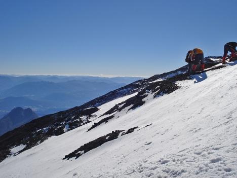 Escalada do Vulcão Villa Rica - Puccon - Chile/Vulkan Villa Rica Klettern - Puccon - Chile/ Volcano clibing Villa Rica - Puccon - Chile