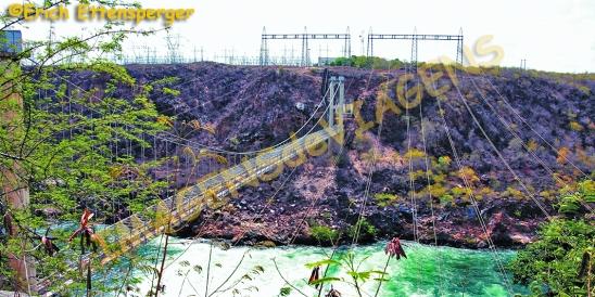 Antiga ponte de funcionários, Paulo Afonso I/Alte Brücke Beamten, Paulo Afonso I/ld bridge officials, Paulo Afonso I