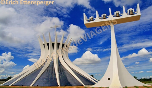 Catedral Metropolitana de Brasília/Kathedrale Metropolitana de Brasília/Brasilia Metropolitan Cathedral