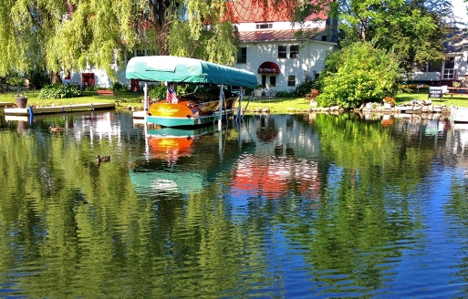 Vias navegáveis pitorescas/ Picturesque waterways/Malerischen Wasserstraßen