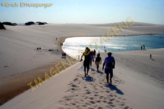 Caminhada nas dunas/Spaziergang in den Dünen/Walk in the dunes