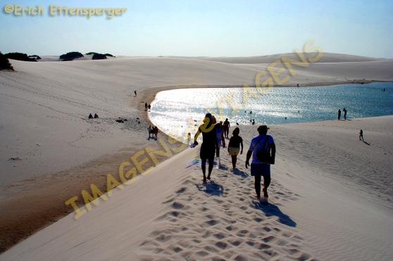 Caminhada nas dunas