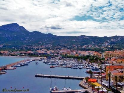 Vista panoramica de Calvi / Panoramablick auf Calvi / panoramic view of Calvi