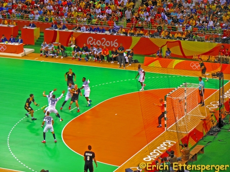Partida de Handball /Semifinale Handball /Semifinal Handball