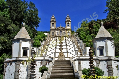 Santuário do Bom Jesus do Monte, Braga, Portugal/Heiligtum Bom Jesus do Monte, Braga, Portugal/ Bom Jesus do Monte Sanctuary, Braga, Portugal
