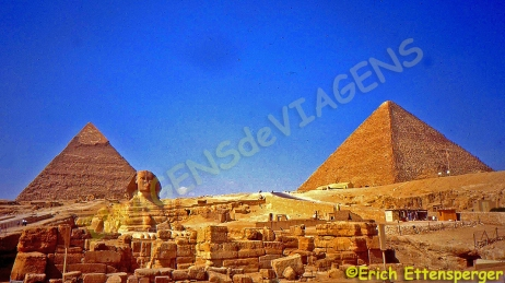 As Pirâmides de Gizé ea Esfinge /Die Pyramiden von Gizeh und die Sphinx / The Pyramids of Giza and the Sphinx