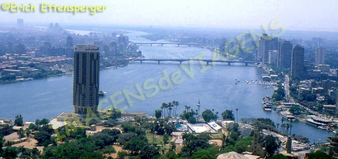 Vista do Cairo / Blick auf Kairo / View of Cairo