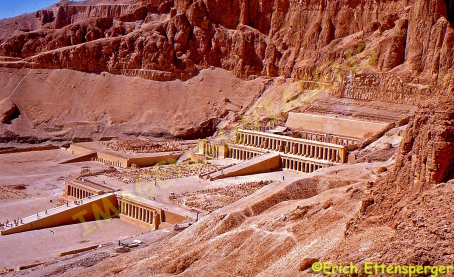 Templo funerário de Hatchepsut / Totentempel der Hatchepsut / Mortuary Temple of Hathepsut