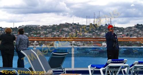 Puerto Montt, a partir do navio