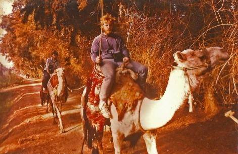 Cavalgada incomum / Ungewöhnlicher Reitausflug / Unusual riding trip