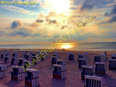 Entardecer na pria /Sonnenuntergang am Strand / Sunset at the beach