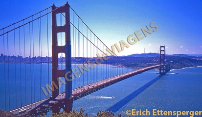 Famosa ponte em São Francisco