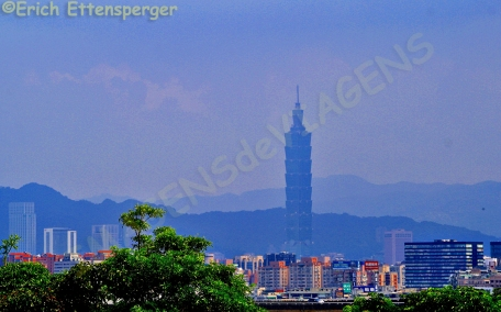 Vista de Taipé 101/Blick auf das Taipeh 101 view of the Taipei 101