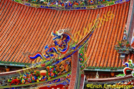 Detalhe decorativo com um dragão/Drachendekoration/dragon decoration