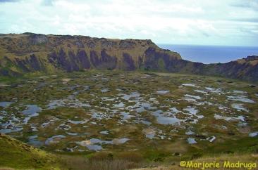 Vulcão Rano Kao / Vulkan Rano Kao / Volcano Rano Kao
