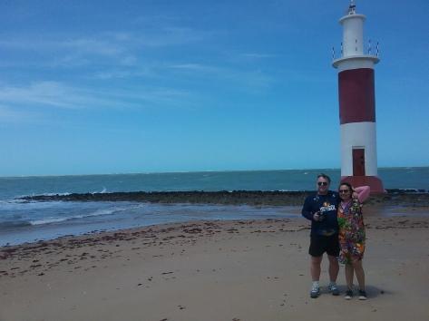 O farol de Galinhos/Leuchtturm von Galinhos/The lighthouse of Galinhos