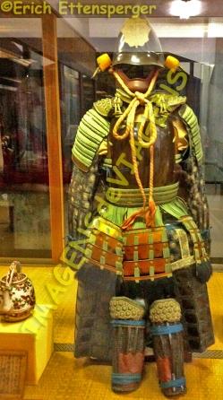 Armadura de samurai / Samurai-Rüstung / Samurai armor