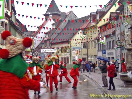 Animação de Carnaval em Elzach / Fastnactstreiben in Elzach / Carnival action in Elzach