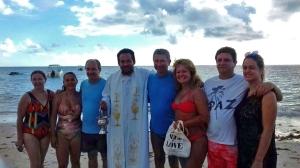 Da esquerda para a direita/Von links nach rechts/From left to the right: Ana Tenório, Alba Cristina, Aldo Lourenço, Ademilton Tenório, Gracia Cardoso, Alan Henrique e Sheyla .