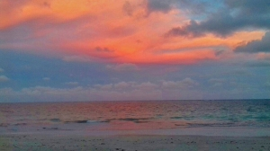 Por do sol/Sonnenuntergang/sunset