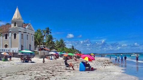 Praia dos Carneiros/Strand Praia dos Carneiros/Carneiros Beach