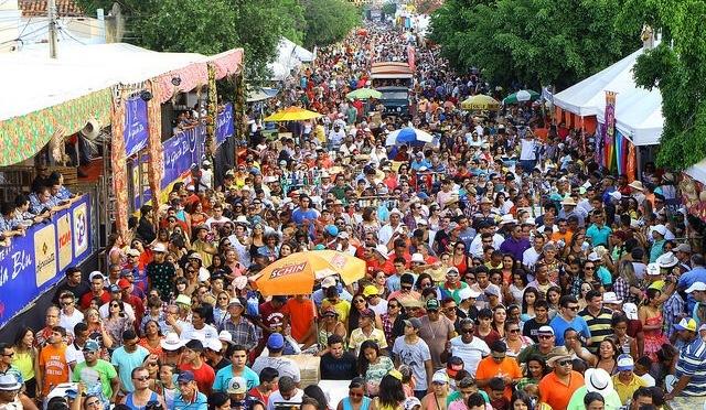 Três festas juninas no Nordeste Brasileiro