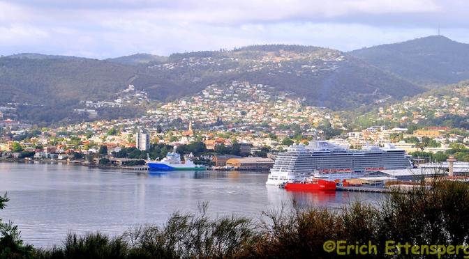 Hobart, portão de entrada da Tasmânia/Hobart – Eingangstor Tasmaniens/Hobart – gateway to Tasmania