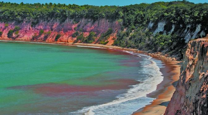 As praias espetaculares de Tibau do Sul no Rio Grande do Norte/Die spektakulären Strände von Tibau do Sul in Rio Grande do Norte/The spectacular beaches of Tibau do Sul in Rio Grande do Norte