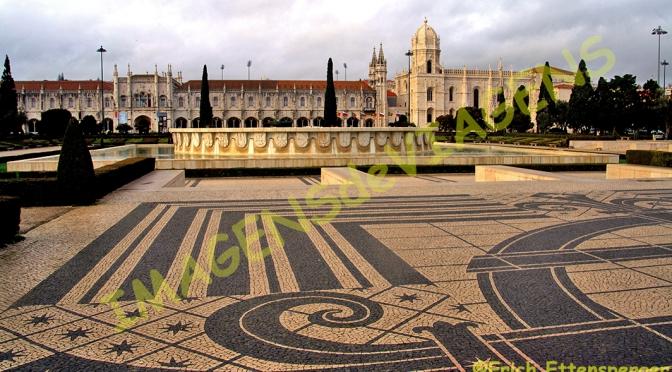 Torre de Belém e Mosteiro dos Jerônimos/Turm von Belém und Hieronymus-Kloster/Belém Tower and Jeronimos Monastery